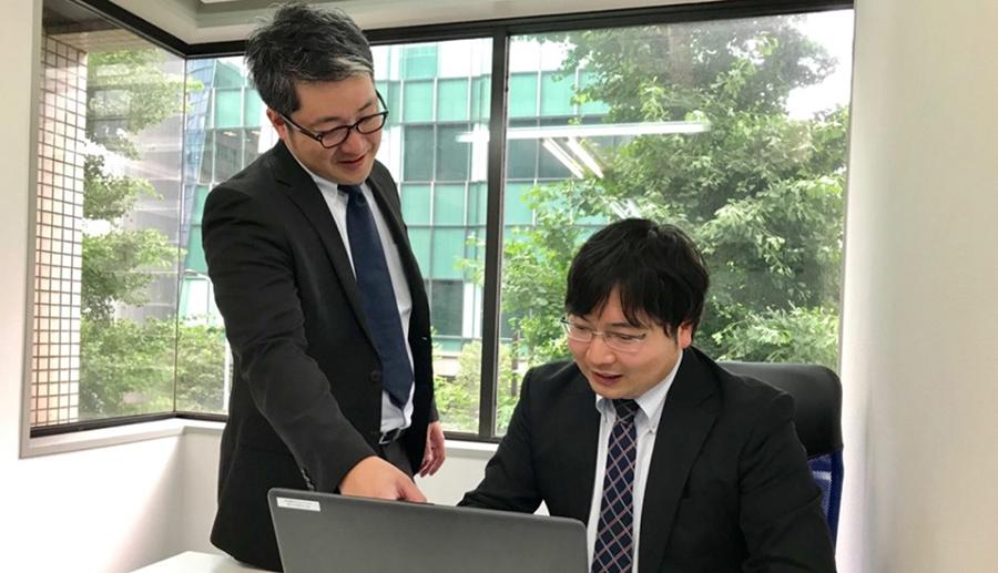 ITソリューション部 ISS課 木下 寛(入社1年目)